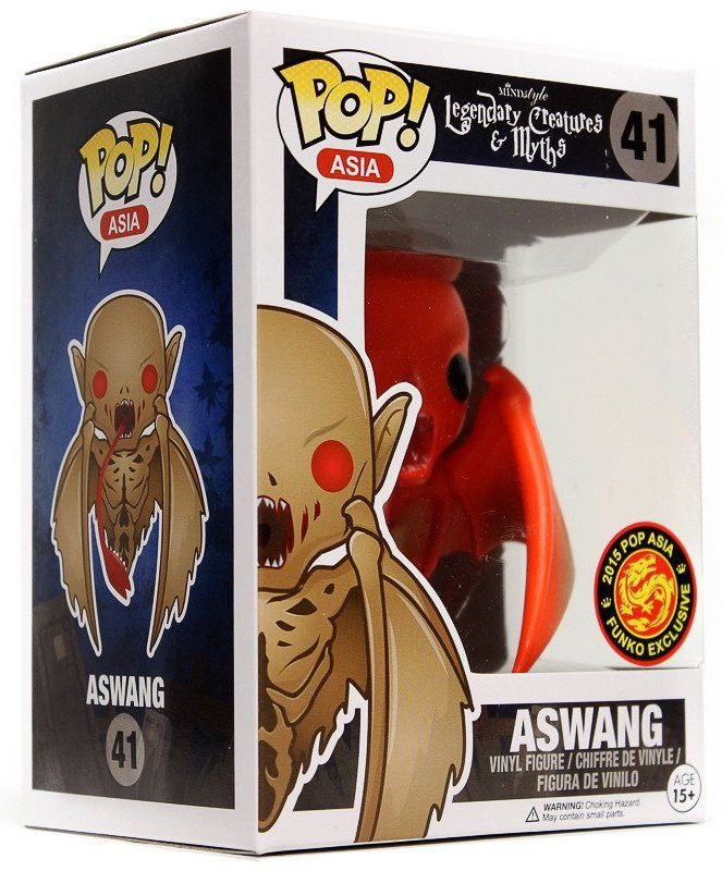 Funko Pop! Asia Aswang (Orange) Stock