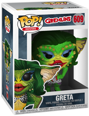 Funko Pop! Movies Greta Stock