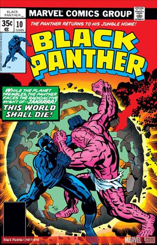 Marvel Comics Black Panther (1977 - 1979) Black Panther (1977) #10