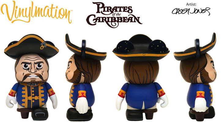 Vinylmation Open And Misc Stranger Tides Captain Hector Barbossa