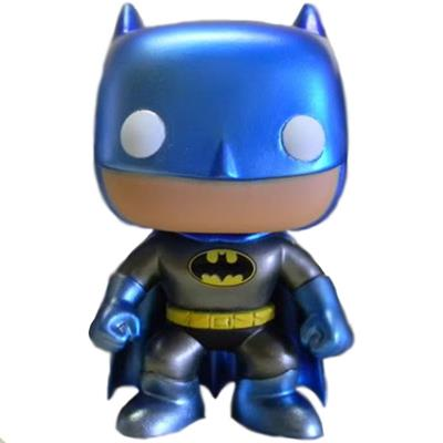 Funko Pop! Heroes Batman (Blue) - Metallic Chase