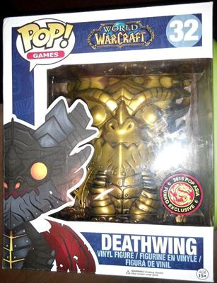Funko Pop! Games Deathwing (Gold) Stock