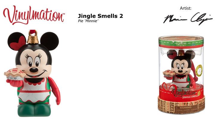 Vinylmation Open And Misc Jingle Smells 2 Pie 'Minnie'