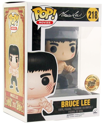 Funko Pop! Movies Bruce Lee (Enter The Dragon) Stock