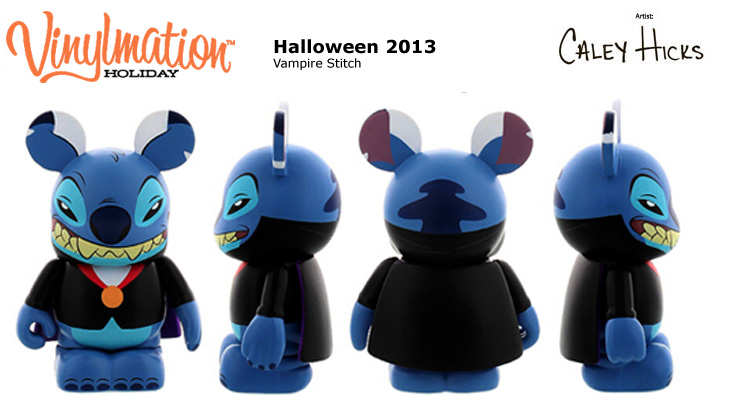 Vinylmation Open And Misc Holiday 2013 Halloween Vampire Stitch