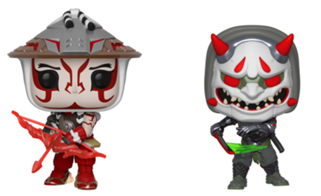 Funko Pop! Games Hanzo and Genji (2-pack)