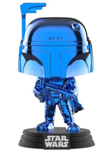 Funko Pop! Star Wars Boba Fett (Blue Chrome)