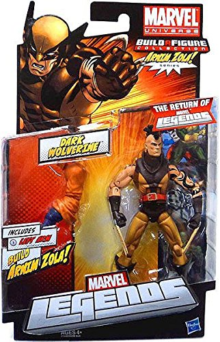 Marvel Legends Arnim Zola Series Dark Wolverine (Unmasked Variant)