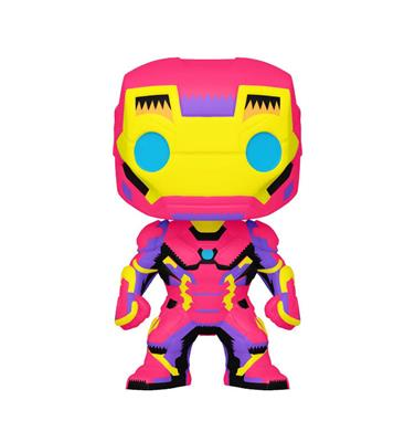 Funko Pop! Marvel Iron Man (Black Light)