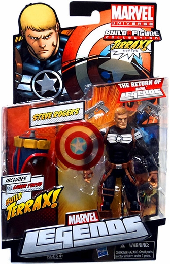 Marvel Legends Terrax Series Steve Rogers