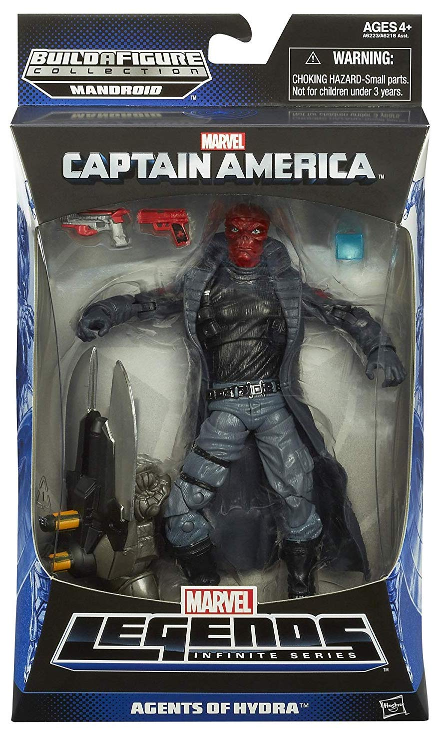 Marvel Legends Mandroid Series Red Skull Icon