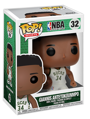 Funko Pop! Sports Giannis Antetokounmpo Stock Thumb
