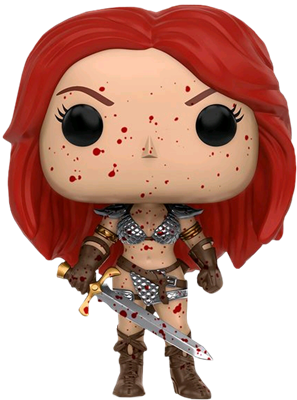Funko Pop! Heroes Red Sonja (Bloody) Icon