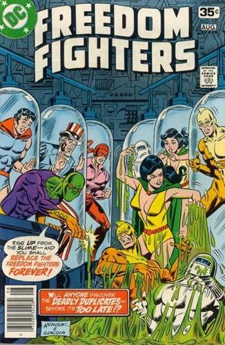 DC Comics Freedom Fighters (1976) Freedom Fighters (1976) #15 Stock