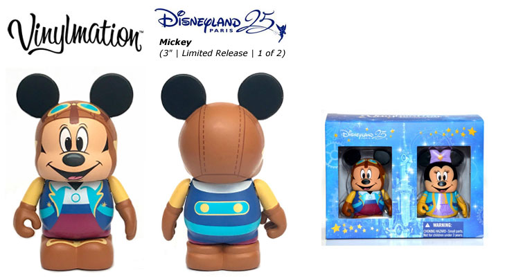 Vinylmation Open And Misc 25th Anniversary Mickey Mouse