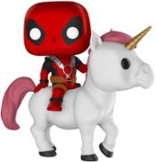 Funko Pop! Rides Deadpool on Unicorn