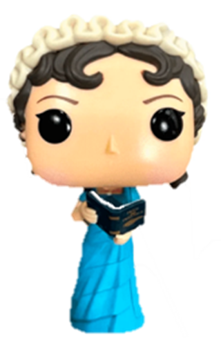 Funko Pop! Books Jane Austen
