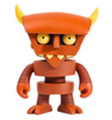 Kid Robot Art Figures Robot Devil Stock