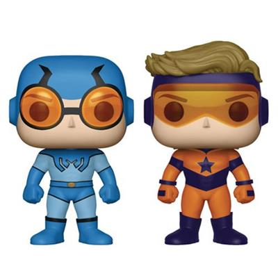 Funko Pop! Heroes Booster Gold and Blue Beetle Icon