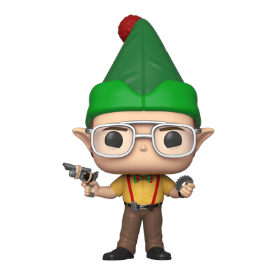 Funko Pop! Television Dwight dressed as an elf