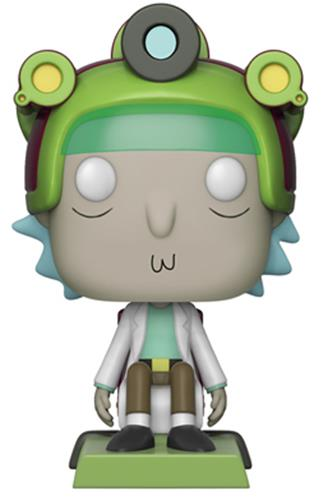 Funko Pop! Animation Rick (w/ Game Helmet)
