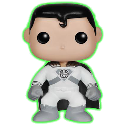 Funko Pop! Heroes Superman (White Lantern) (Glow in the Dark)