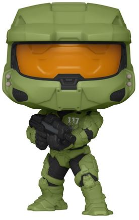 Funko Pop! Halo Master Chief with MA40 Assault Rifle