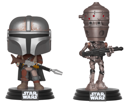 Funko Pop! Star Wars The Mandalorian & IG-11 (2 Pack)