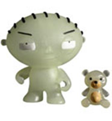 Kid Robot Art Figures Stewie (Glow)