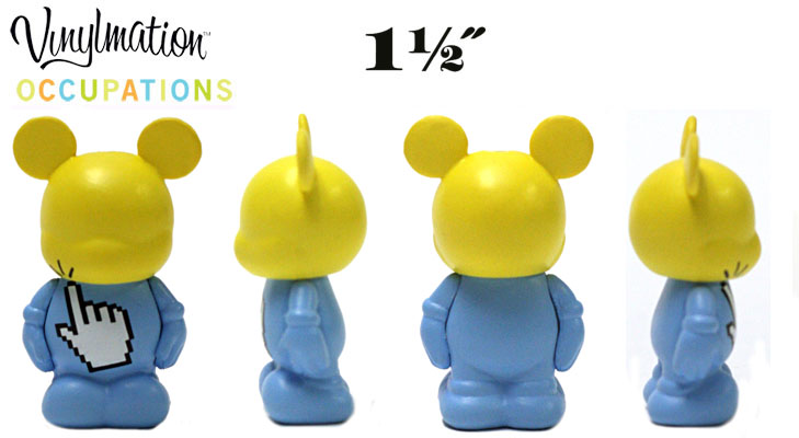 Vinylmation Open And Misc Occupations Jr. Finger Click