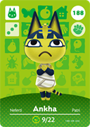 Amiibo Cards Animal Crossing Series 2 Ankha