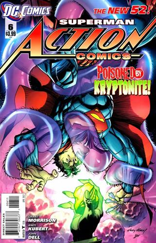 DC Comics Action Comics (2011 - 2016) Action Comics (2011) #6 Stock