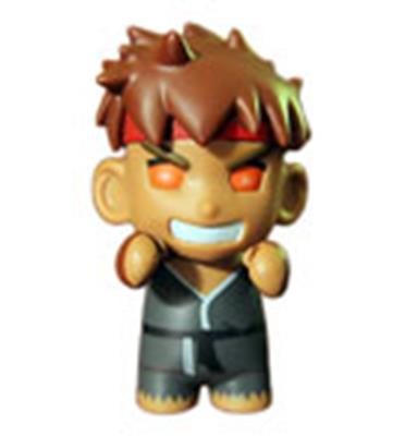 Kid Robot Street Fighter x Kidrobot Evil Ryu