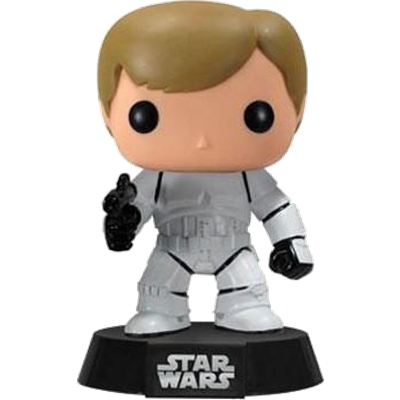 Funko Pop! Star Wars Luke Skywalker (Stormtrooper)