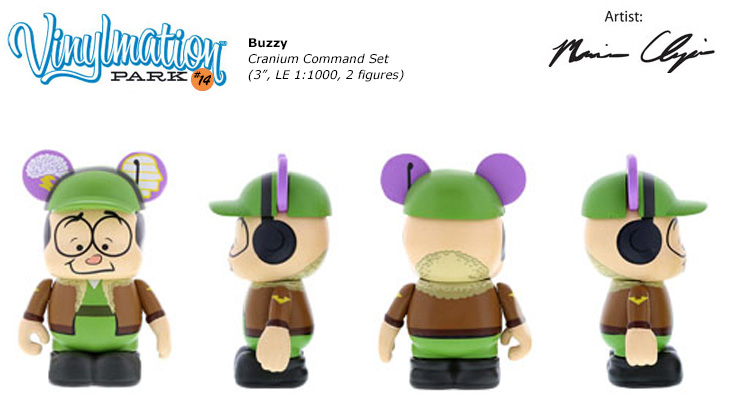 Vinylmation Open And Misc Park 14 Buzzy