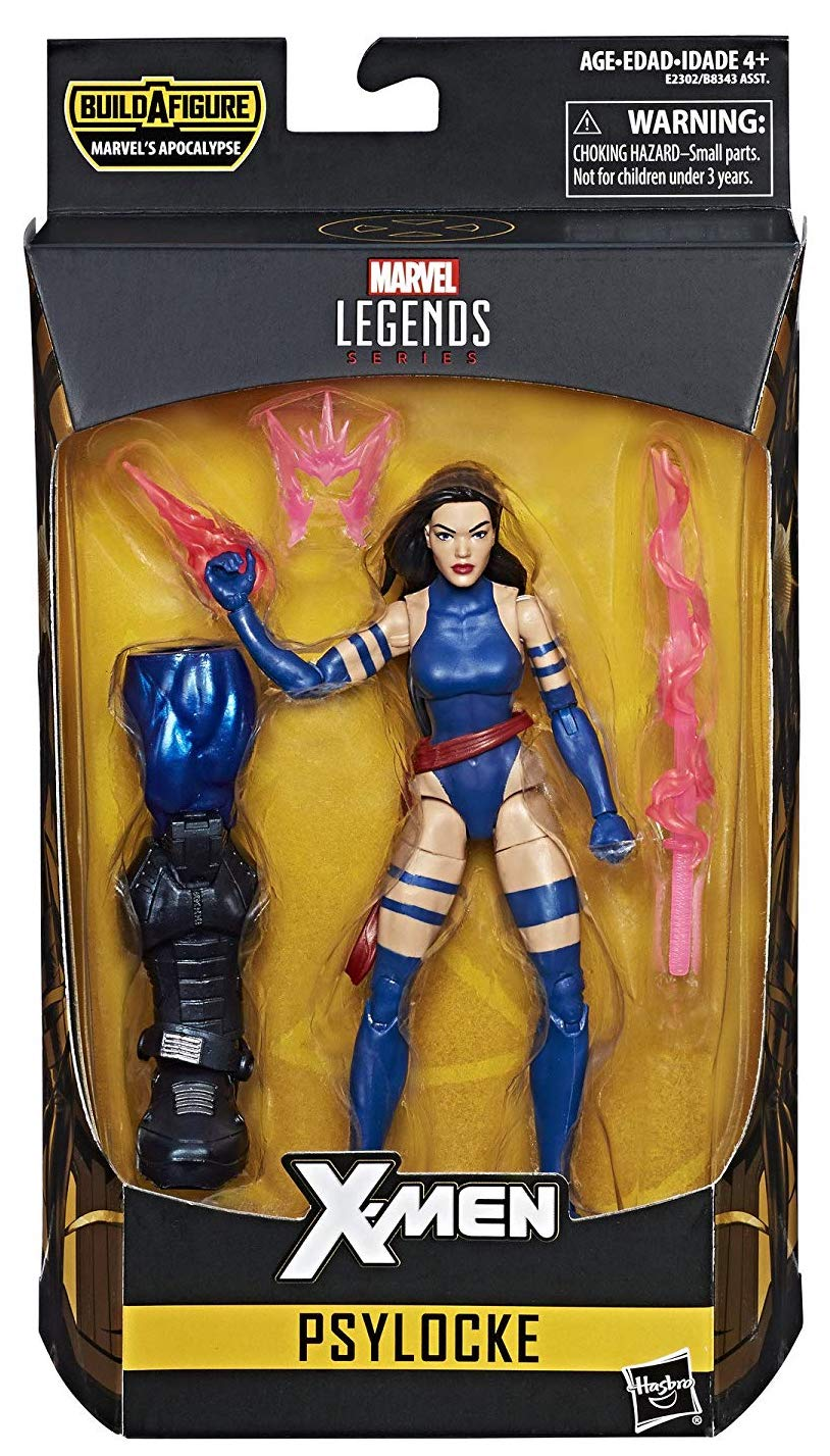 Marvel Legends Apocalypse Series Psylocke Icon