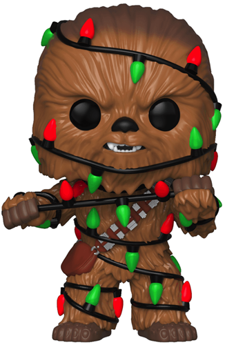 Funko Pop! Star Wars Chewbacca (Christmas Lights)