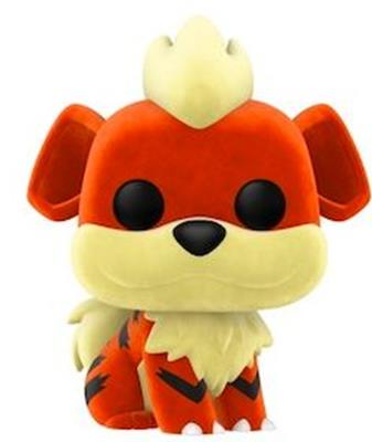Funko Pop! Games Growlithe (Flocked)