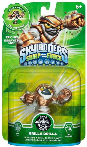 Skylanders Swap Force Grilla Drilla  Stock