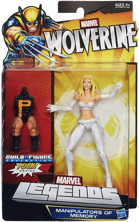 Marvel Legends Puck Series Emma Frost