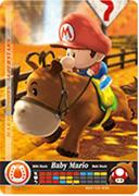 Amiibo Cards Mario Sports Superstars Baby Mario - Horse Racing