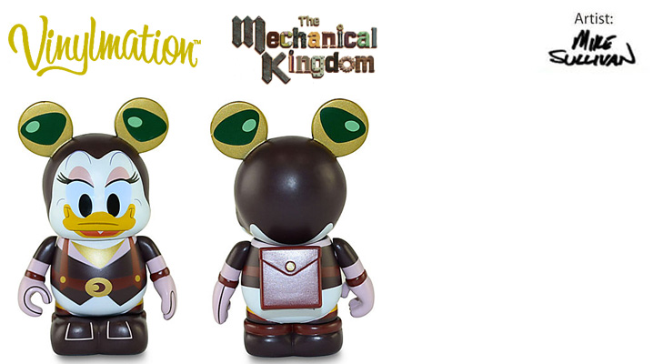 Vinylmation Open And Misc Mechanical Kingdom Daisy
