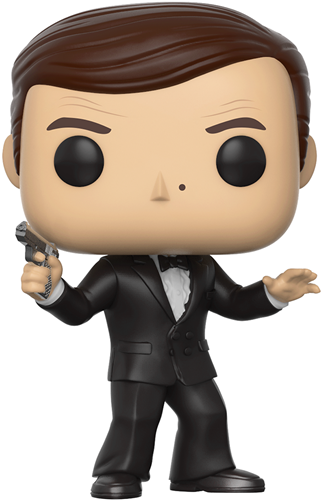 Funko Pop! Movies James Bond (The Spy Who Loved Me)