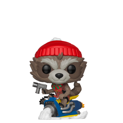 Funko Pop! Marvel Rocket Sled