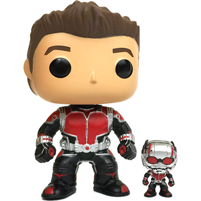 Funko Pop! Marvel Ant-Man (Unmasked)