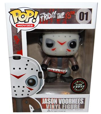 Funko Pop! Movies Jason Voorhees (GITD CHASE) Stock