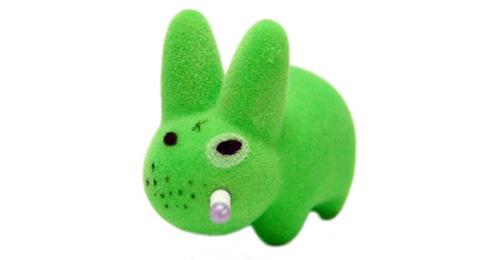 Kid Robot Labbit Packs Gold Pimp Disco Godfather: Green
