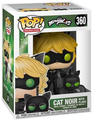Funko Pop! Animation Cat Noir (w/ Plagg) Stock