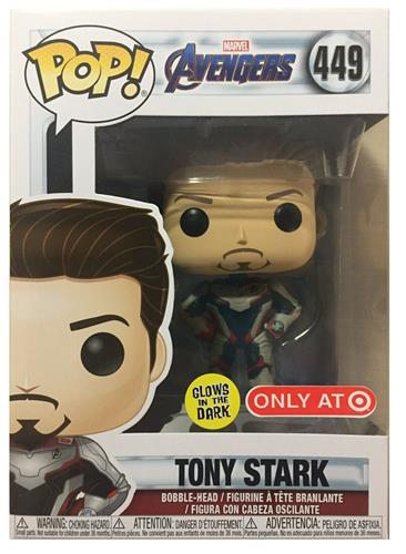Funko Pop! Marvel Tony Stark (Glow) Stock