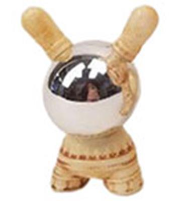 Kid Robot Special Edition Dunny Bone White Crystal Ball Stock